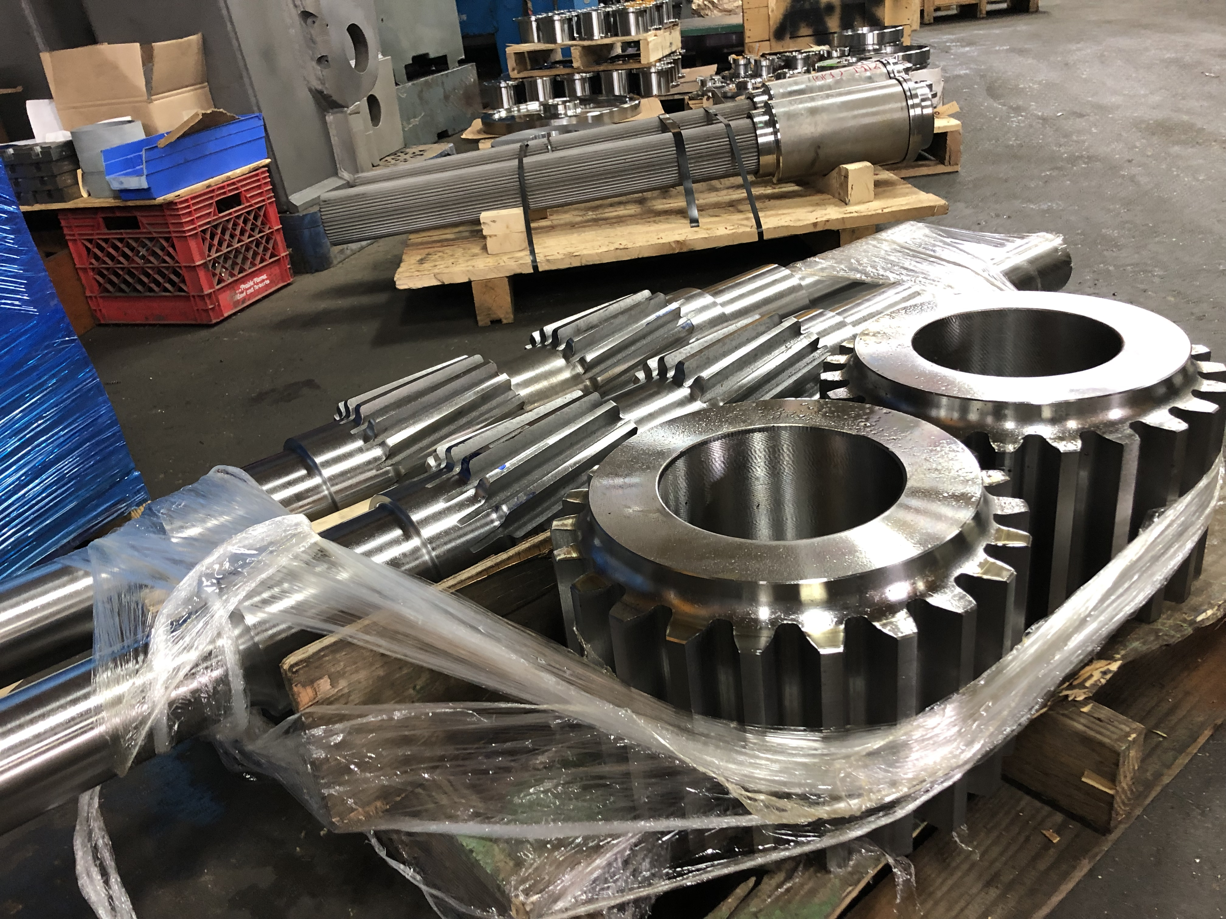 Mixer Parts Fabrication