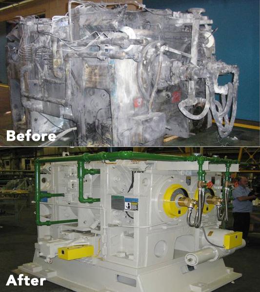 Kobelco Mixer Repair